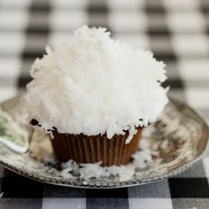 Devils Food Coconut Cupcakes! those would look great with a cute decoration