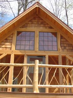 CABIN STUFF on Pinterest | Log Homes, Log Cabins and Logs
