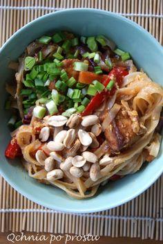 Prosty domowy Pad Thai z tofu Tofu, Ethnic Recipes