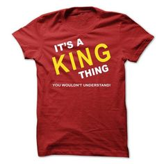 It's A King Thing T Shirts, Hoodies. Check Price ==► https://www.sunfrog.com/Names/Its-A-King-Thing-mvqwi.html?41382