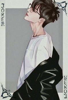 Anime Boys, Cool Anime Guys, Handsome Anime Guys, Anime Art Girl, Manga Art, Manga Anime, Korean Anime, Digital Art Anime, Fantasy Art Men
