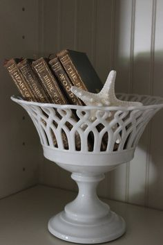 design indulgence compote with books