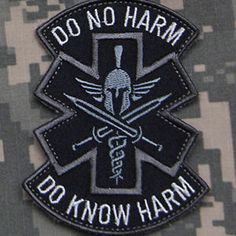 Home & Garden Patches Spartan Military Surgeon Tactical Morale Patch Us Army Medical Badge Embroidered Patch For Jackets Jeans Backpack Medical Badge Bracing Up The Whole System And Strengthening It
