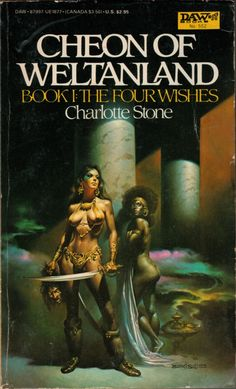 Boris Vallejo, Cheon of Weltanland The Four Wishes by Charlotte Stone Fantasy Book Covers, Book Cover Art, Comic Book Covers, Fantasy Books, Fantasy Artwork, Book Art, Fantasy Literature, Boris Vallejo, Pulp Fiction Book