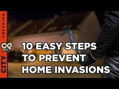 In this helpful video, we look at 10 easy steps to prevent home invasions! Once you have a home invader enter your home...
