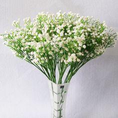 лот PU babysbreath Искусственные цветы Настоящее сенсорный Искусственные  букет цветы для дома Свадебные Декоративные цветы и венки купить на  AliExpress 81bd82f9a96