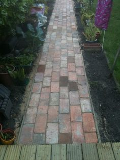 (Ground works) Traditional Victorian Path Complete