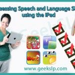 GeekSLP Assessing Speech and Language Skills using the iPad. Pinned by SOS Inc. Resources Childress & Porter Inc. Speech Language Therapy, Speech Language Pathology, Speech And Language, Speech Therapy, Speech Activities, Language Activities, Educational Assistant, Teacher Toolkit, Therapy Ideas