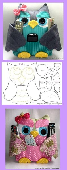 owl crafts for preschoolers . owl crafts for kids . owl crafts for toddlers . owl crafts for adults . owl crafts for kids to make . Owl Sewing, Sewing Toys, Sewing Crafts, Sewing Projects, Owl Patterns, Sewing Patterns, Owl Crafts, Sewing Tutorials, Fabric Crafts