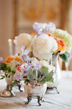 Vintage Garden Party Wedding by Strawberry Milk Events. Photos + Florals by Romance of Flowers.