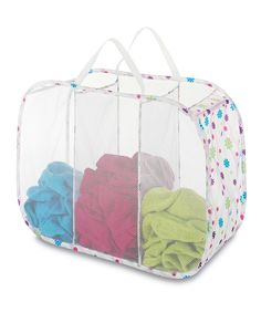 Love this Daisy Parade Pop & Fold Triple Laundry Sorter by Whitmor on #zulily! #zulilyfinds