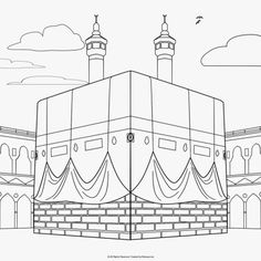 Islamic Coloring Pages Pdf Muslim Book Activities Art Mindful History — ObispaDodeJujuy Al Isra Wal Miraj, Photo Ramadan, Photos Islamiques, Decoraciones Ramadan, Muslim Book, Ramadan Crafts, Ramadan Tips, Islamic Art Pattern, Islam For Kids