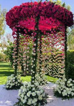 Best Garden wedding ceremony thorns ideas - Decoration For Home Wedding Mandap, Wedding Stage, Wedding Events, Wedding Ceremony, Ceremony Arch, Wedding Receptions, Daytime Wedding, Backdrop Wedding, Wedding Bells