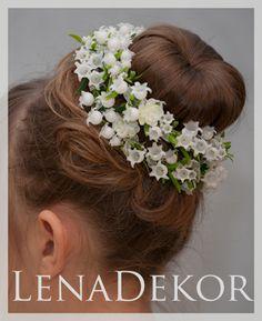 Head Wreaths, First Communion, Hair Beauty, Make Up, Hairstyles, Bridal, Flowers, Wedding, Fashion