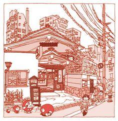 Tokyo 100 views(1〜5) on Behance