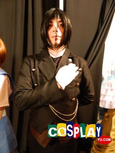 Sebastian Michaelis Cosplay from Kuroshitsuji in Animate!Miami 2014 US