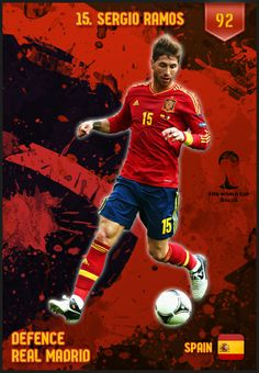 5101225a5  SergioRamos Spain FIFA World Cup 2014 Lineup Spain Football