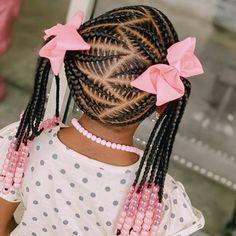 Black Toddler Hairstyles, Little Girls Natural Hairstyles, Little Girl Braid Hairstyles, Little Girl Braids, Natural Hairstyles For Kids, Baby Girl Hairstyles, Black Girl Braids, Kids Braided Hairstyles, Braids For Kids