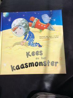 Boekje Kees en het kaasmonster (action 1,98 euro). Wanneer Kees met zijn zelfgemaakte raket op de maan landt, komt hij erachter dat deze gemaakt is van kaas!