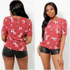 Womens Ladies Floral Patterned Blouse Shirt Top UK 10 12 14 16 20 24 Plus Sizes Shirt Blouses, Shirts, Casual Party, Summer Tops, Online Price, Plus Size, Best Deals, Lady, Floral