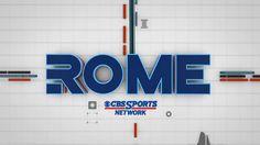 Rome /// Opener /// FBF for CBS Sport