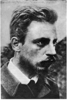 "Austria. Rainer Maria Rilke (24), 1900. Rilke was a Bohemian-Austrian poet and novelist, ""widely recognized as one of the most lyrically intense German-language poets"", writing in both verse and highly lyrical prose. Several critics have described Rilke's work as inherently ""mystical"" (Wikipedia)"