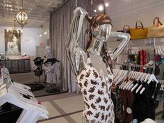 Boutique Ideas....bypass everything and the chandelier is what I love