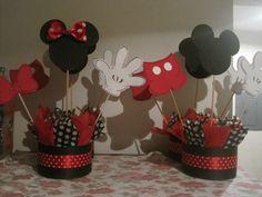 Centros de mesa, Mickey y Minnie