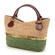 TOPKAPI crochet bag