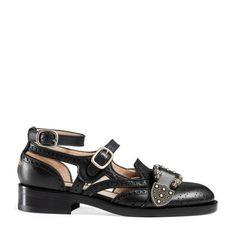 Queercore brogue monk shoe @Gucci