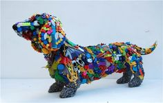 upcycle sculpture - Google Search