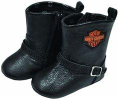 Harley-Davidson baby biker boots