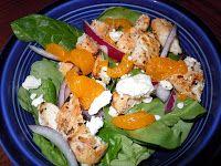 Robin, Restored: Chicken, Feta, Mandarin, Spinach Salad