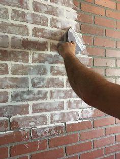 Brick Discover DIY Faux Brick Wall in Laundry Room - Beauty For Ashes Learn how to install a DIY faux brick wall to instantly add tons of character to your space. This is a fairly simple DIY that can be done in a weekend.