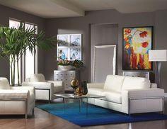 Fregene with Glass on Glass living room set via @Cort Hightower Furniture