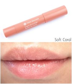 The Happy Sloths: Yves Rocher Summer Creations Summer 2015 Collection Radiant Lip Crayon: Review and Swatches
