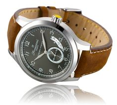'Amsterdam by Night' Vintage leather strap