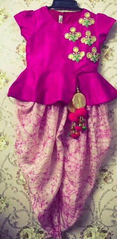 Make your little one look super adorable and cute wearing indian suit and dresses, Get it customized Beautifully designed at Nivetas Design Studio. Whatsapp How To Get A Custom Wedding Dress Made Kids Indian Wear, Kids Ethnic Wear, Indian Party Wear, Frock Design, Little Girl Dresses, Girls Dresses, Baby Dresses, Wedding Dresses, Party Kleidung