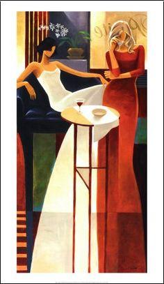 Keith MallettFemmes (art décoratif)