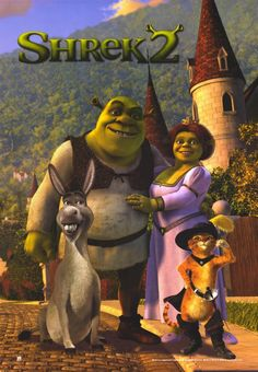 Shrek 2 11x17 Movie Poster (2004)