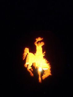 Cowboy Pumpkin Carving | Wyoming Cowboys