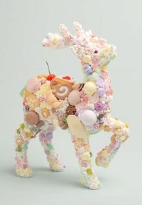 見てるだけでシアワセ!渡辺おさむ氏のスイーツデコアート展「Sweets Sentiment」開催