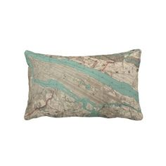Vintage Map of New York City (1890) Pillows from Zazzle.com $52.00