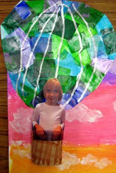 Cassie Stephens: In the Art Room: Hot Air Balloons Over Paris