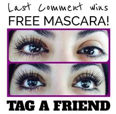 Go to my www.facebook.comYouniqueLT and tag your friends for free mascara!!!!! Links in bio