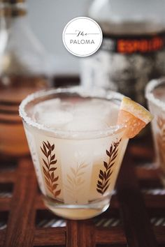 The Paloma Cocktail (grapefruit, lime, and tequila)   via Style Within Reach