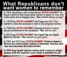 Yes, Ladies! Vote as if your life depends on it...because it does!