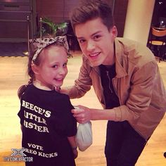 Reece and his sister