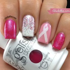 "Gelish 2013 ""You Can Make a Difference"" Breast Cancer Awareness Trio"