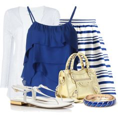 Out of the Blue by colierollers on Polyvore